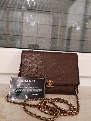 Chanel Portemonnee bruin