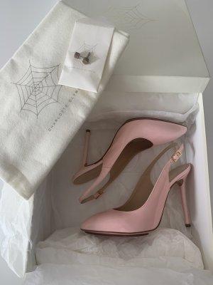 Charlotte Olympia Tacco alto rosa chiaro