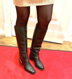 Original  Chloé  Designer Stiefel, Leder, schwarz, Gr. 37