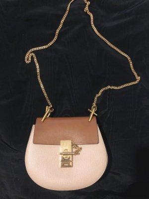 Original CHLOÉ DREW Medium Tasche Echt Leder Crossbody