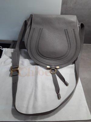 Original Chloe Marcie Umhängehandtasche in cashmere Grey,  medium