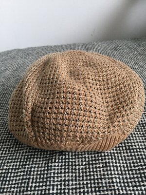 Chloé Knitted Hat beige-gold-colored