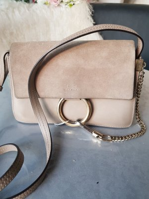 Original Chloe Tasche Faye Medium Motty Grey