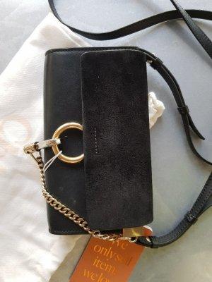 Original Chloé Tasche Faye schwarz mit Rechnung & Staubbeutel