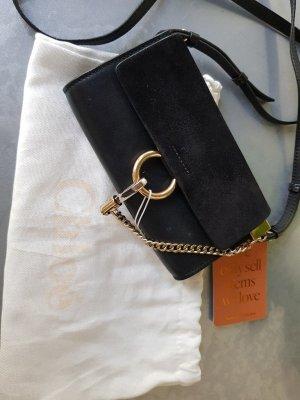 Original Chloé Tasche Faye schwarz mit Rechnung & Staubbeutel Topzustand