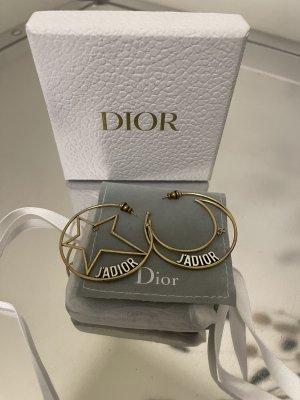 Christian Dior Orecchino a cerchio oro