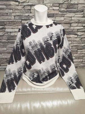 Original Christian Dior Damen Pullover Pulli schwarz weiß Gr M