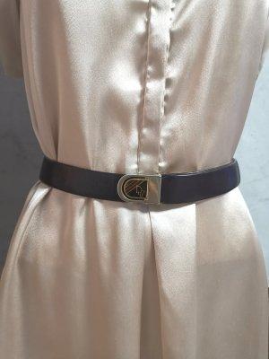 Original Christian Dior Gürtel Gr 85 Braun Gold