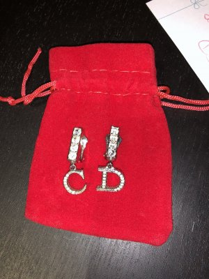 Christian Dior Earclip silver-colored