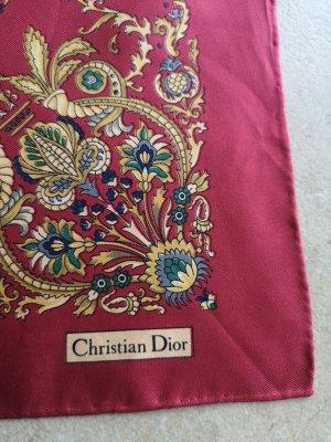 Christian Dior Jedwabna chusta Wielokolorowy
