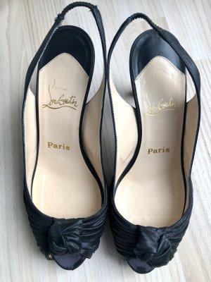 Original Christian Louboutin Peeptoe High Heels