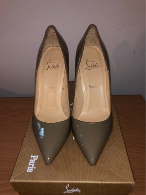 Original Christian Louboutin Pigalle 100 Pate Schuhe