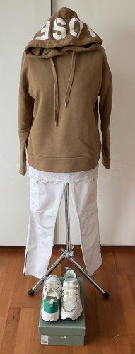original CLOSED oversized Hoodie Sweatshirt hellbraun beige Gr. S 38 40 neuwertig