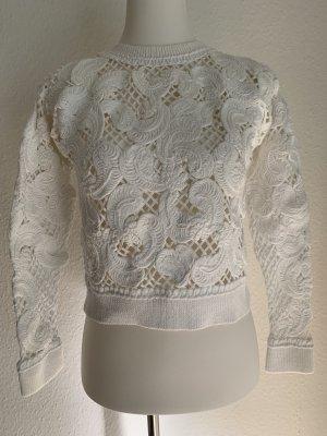 Club Monaco Crewneck Sweater white