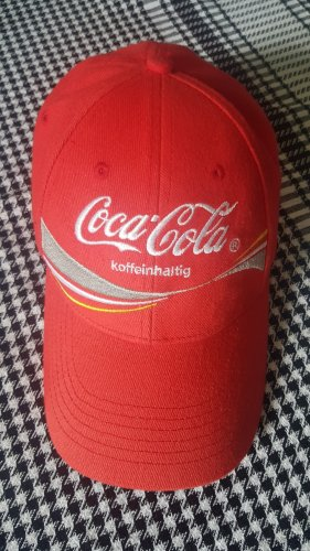 Original Coca Cola Basecap / in Rot / NEU