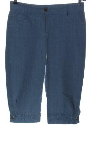 Original Coco Chanel resort cruise 2013 3/4-Hose blau Casual-Look cropped pants