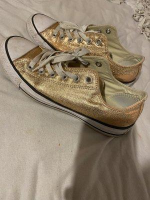 Converse Zapatos brogue color rosa dorado