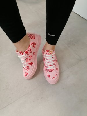 original Converse Chucks Sneaker Kunstleder Rosa 39/39.5
