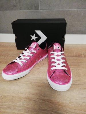 original Converse Sneaker Chucks Gummi pink schimmernd 37/38