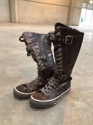 Converse Lace-up Boots brown
