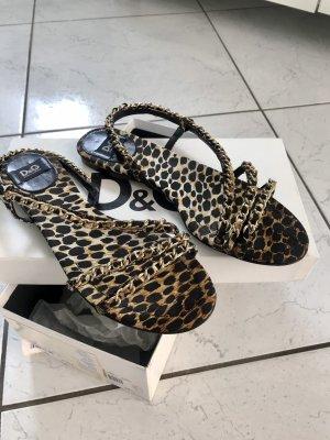 Original D&G Dolce & Gabbana Sandalen
