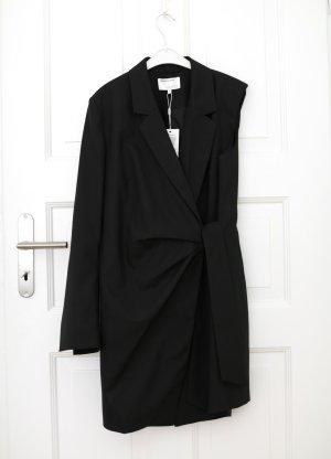 Original Designers Remix Blazer Kleid Asymmetrisch Sustainable Gr. 38 schwarz neu mit Etikett