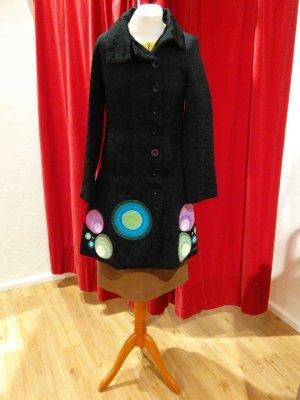 Desigual Between-Seasons-Coat multicolored mixture fibre