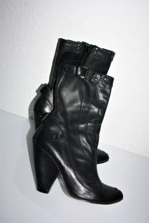 Original Diesel Damen Stiefel Leder, Gr.36