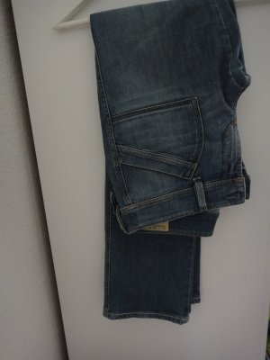 Diesel Trousers cornflower blue cotton