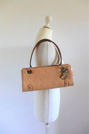 Original Dior Lady Dior Handtasche Leder beige nude silber Cannage