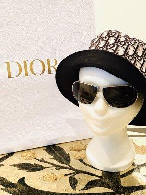 Dior Occhiale da sole ovale argento-nero