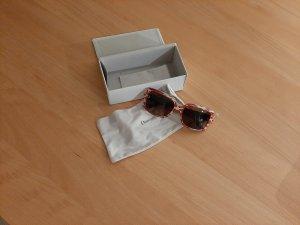 Dior Gafas de sol cuadradas beige-rojo