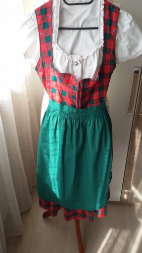 Salzburger Dirndl Dirndl red-green
