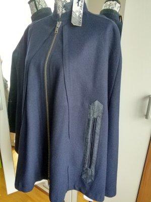 original DKNY Jeans Wolle Cape Peacoat Jacke !NEU!