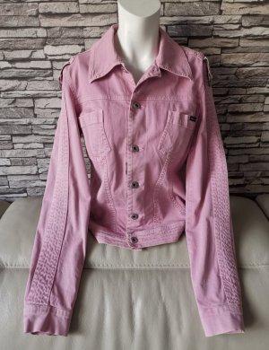 Dolce & Gabbana Denim Jacket pink mixture fibre