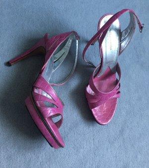 Original Dolce&Gabbana Sandalen, Schuhe, Highheels, pink, Gr. 38 12