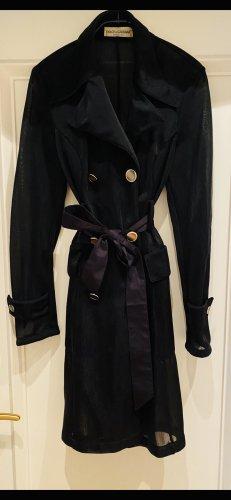 Dolce & Gabbana Trench Coat black