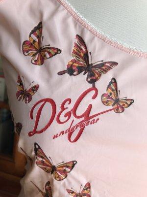 Dolce & Gabbana Koszulka z dekoltem w łódkę Wielokolorowy