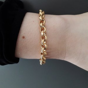 Gold Bracelet gold-colored