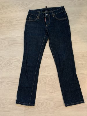 Dsquared2 Jeans coupe-droite bleu foncé