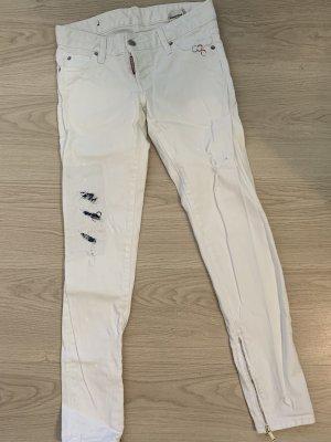 Original Dsquared2 Jeans in weiß