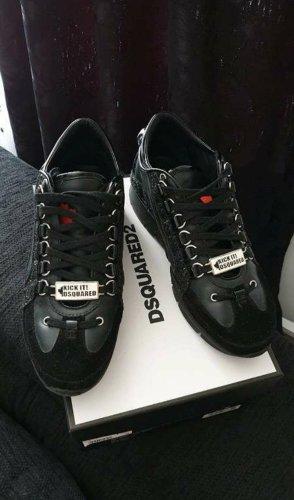 Original Dsquared2 Sneaker Schuhe Echtleder