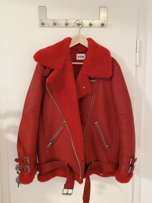 Flight Jacket red