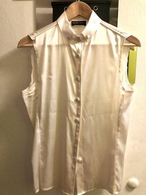 Emporio Armani Sleeveless Blouse natural white