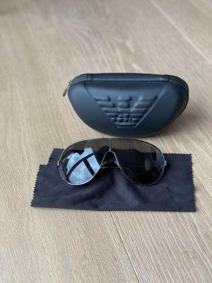 Emporio Armani Occhiale da pilota nero-antracite
