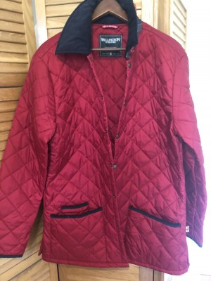 Wellington Abrigo acolchado rojo neón