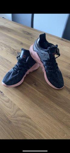 Adidas Sznurowane trampki czarny-łosowiowy
