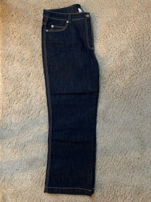 Escada Hoge taille jeans donkerblauw