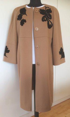 Escada Manteau en laine beige-chameau laine