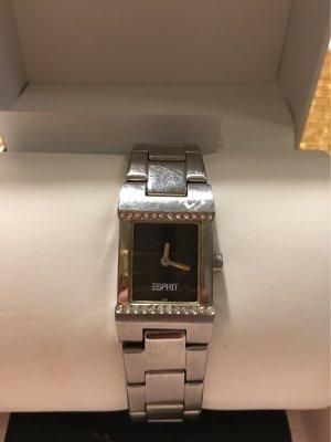 Edc Esprit Reloj digital color plata-negro